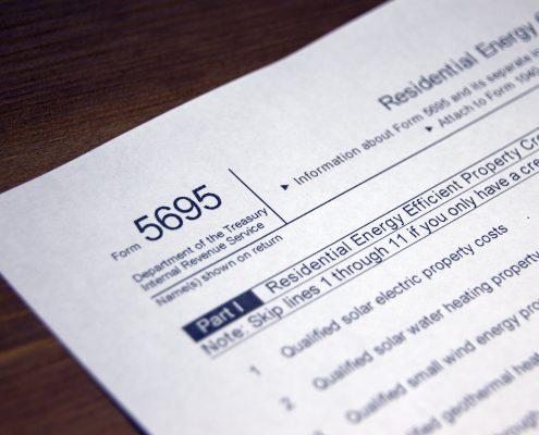 Tax Form 5695