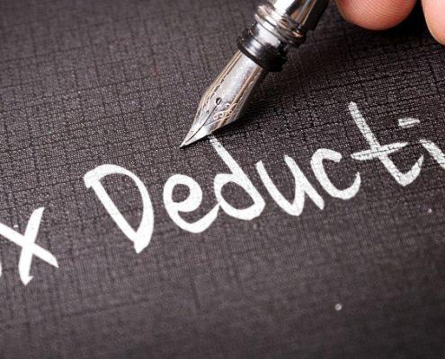 Tax Deduction 2018